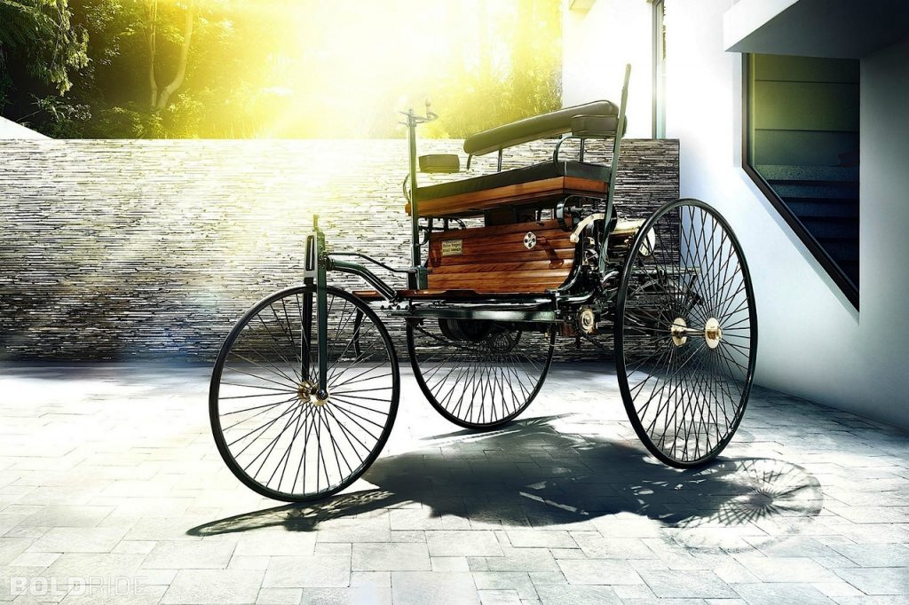 1886-Mercedes-Benz Benz Patent Motor Car