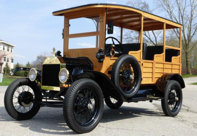 форд Т такси 1915
