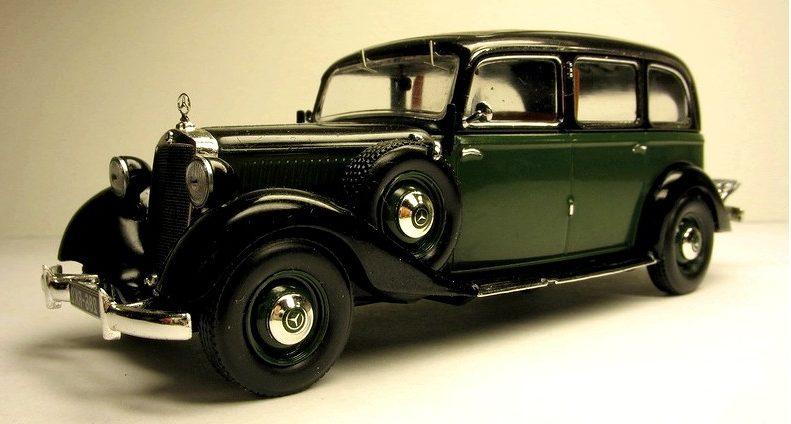 Первый дизельный автомобиль Mercedes Benz 260D