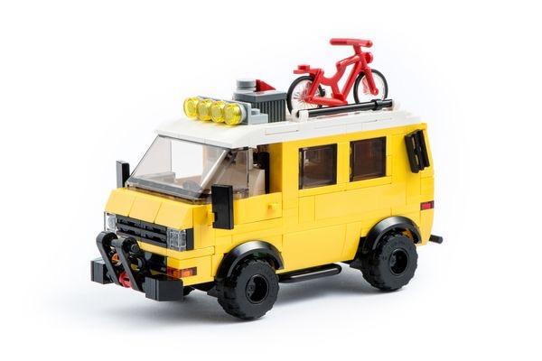 Lego машинки из лего vw