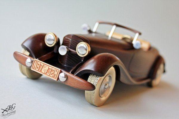 машины и машинки из дерева