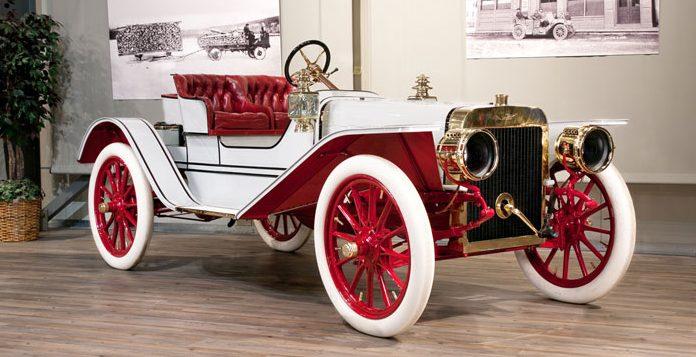 Форд модель К roadster 1907