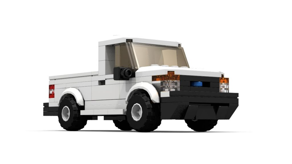 LEGO Ford F Series Pickup Tutorial