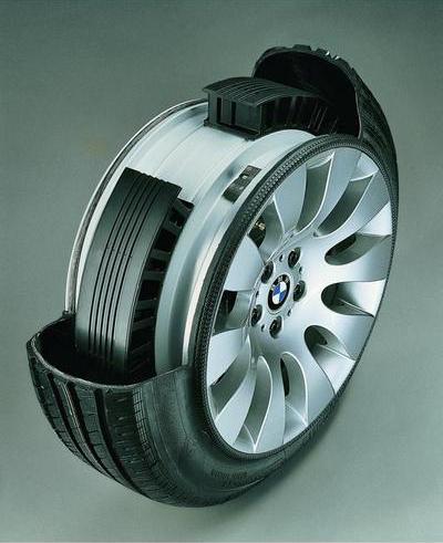 Бронированные колеса Michelin PAX System
