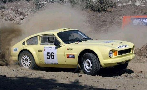 stc-16 ralli турецкий спортивный автомобиль