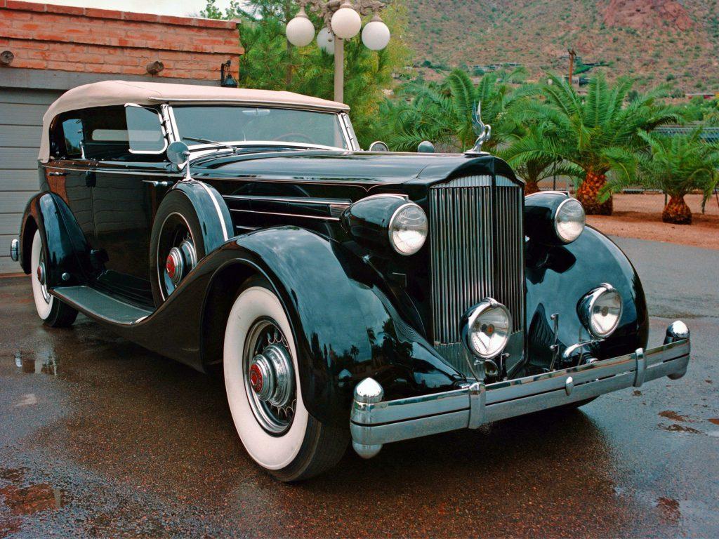 ретро авто тип кузова 1935