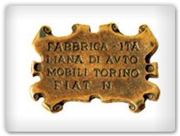 Фиаты и их эмблема начиная с 1899