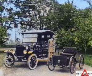 Ford T легендарный автомобиль Железная Лиза