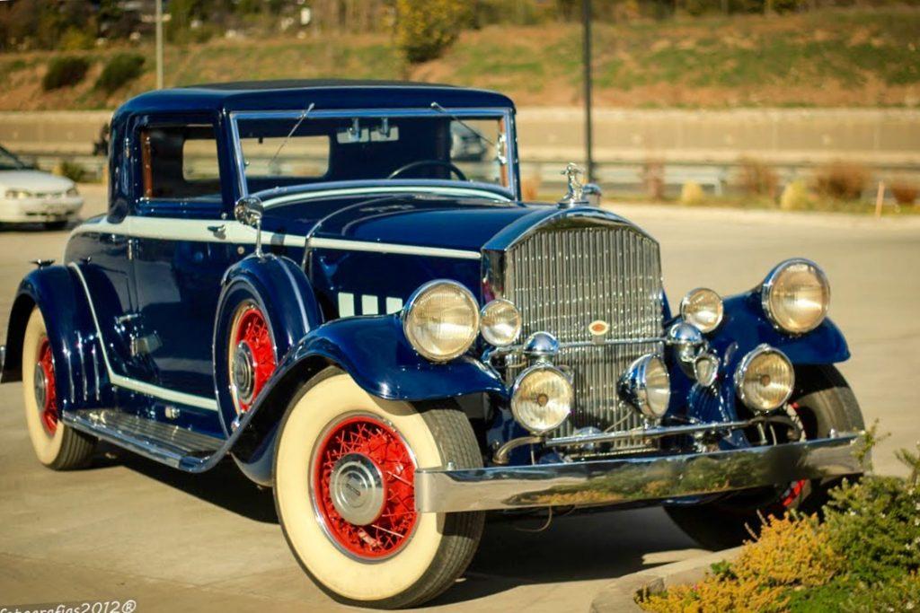 Первый гибридный ретро автомобиль Тесла Pierce-Arrow