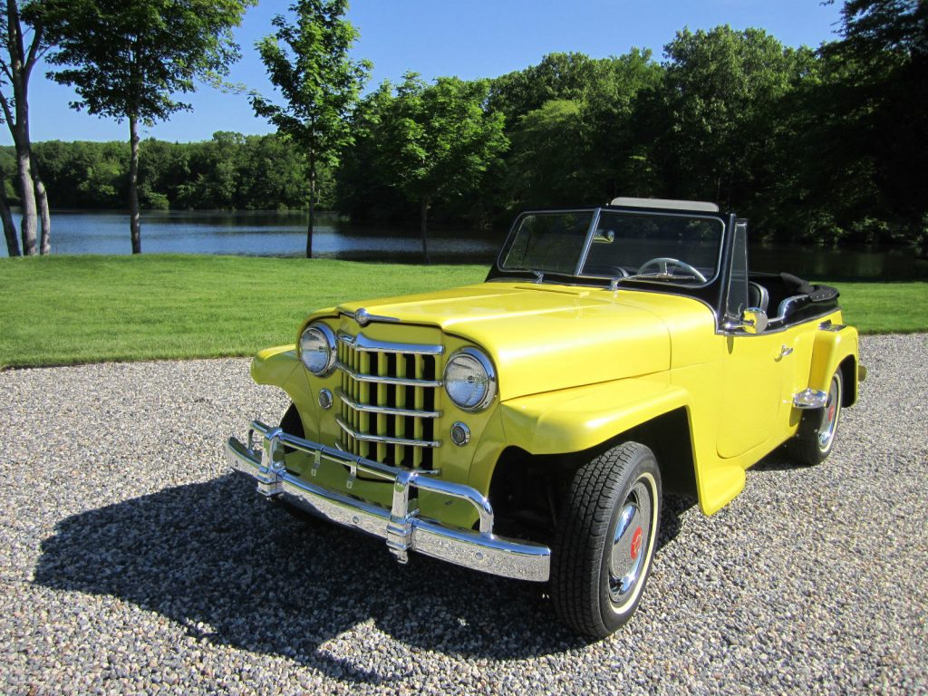 Jeep willys jeepster 1951