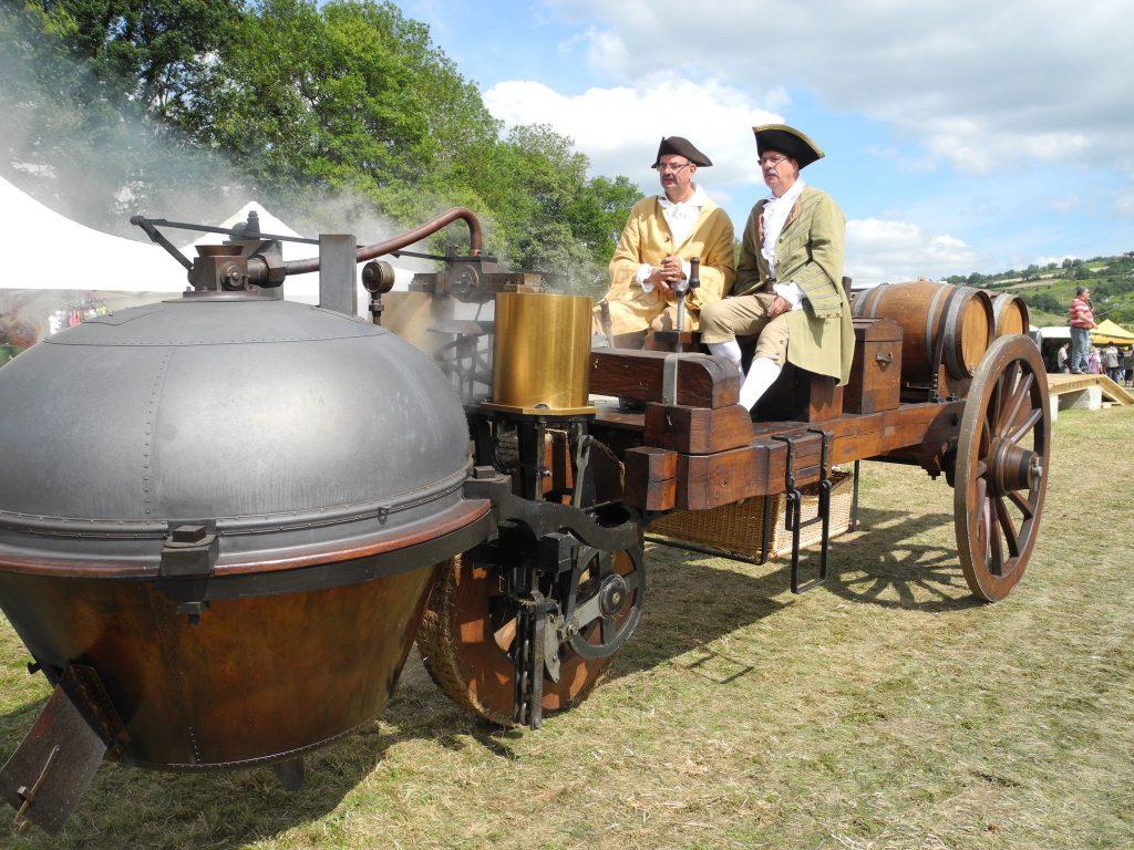 легендарные ретро автомобили - первый автомобиль Кунио 1770 год