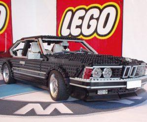 Машинки из Лего — самый автомобильный конструктор