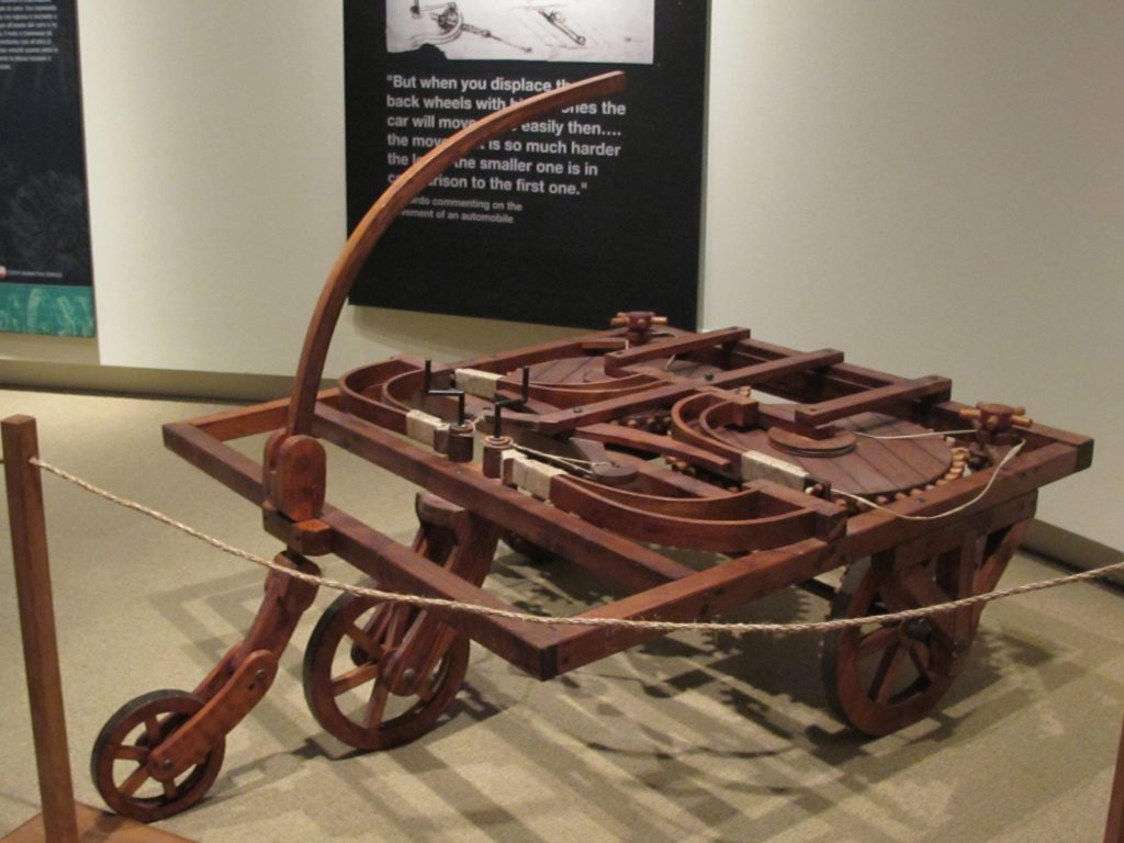 Первая заводная машинка