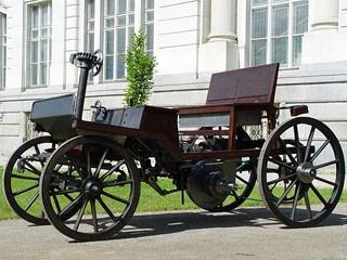 первый бензиновый автомобиль МАРКУС