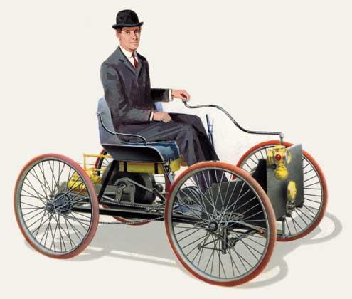 Первый автомобиль Форда
