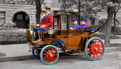 История ретро авто, старинные автомобили