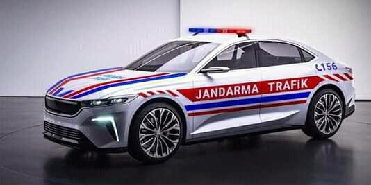 первый турецкий электро автомобиль будущего для военной полиции