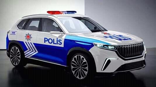 первый турецкий электро автомобиль будущего для полиции