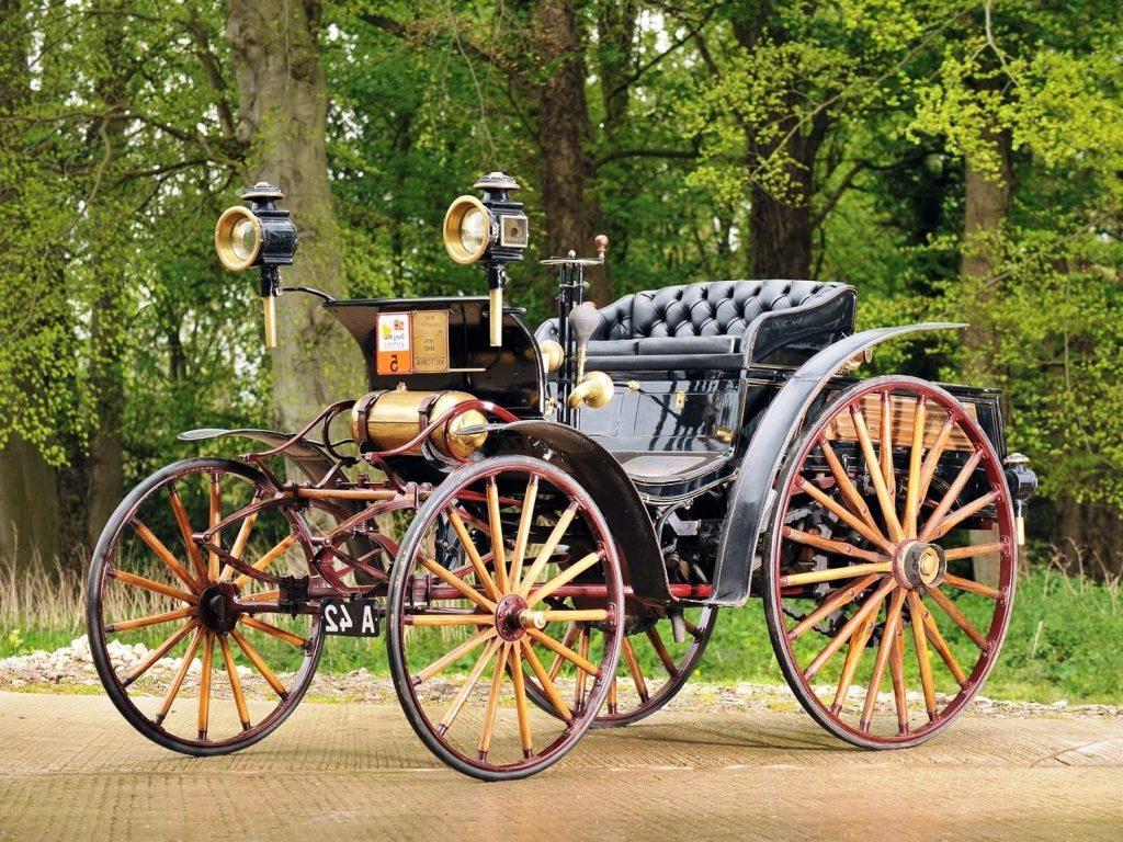 Первое авто с независимым рулевым управлением Victoria benz виктория бенс